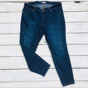 Loft Plus Modern Skinny Jeans, 18